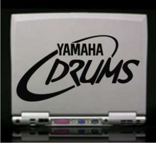 Yamaha Drums Vinyl Decal Sticker 3 Styles 14 Colors