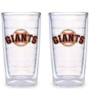 San Francisco Giants Set of TWO 16 oz. Tervis Tumblers