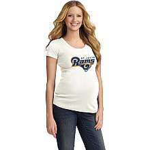 Motherhood Maternity St. Louis Rams Women s Maternity T Shirt