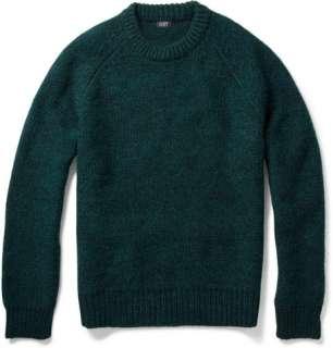 Knitwear  Crew necks  Chunky Knit Wool Blend Sweater