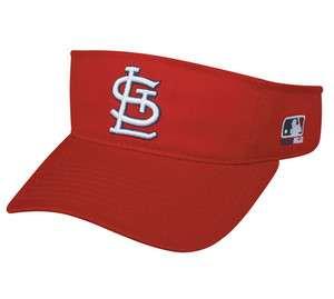 Cardinals Visor Officially Licensed MLB Adjutable Baseball (Cap/Hat