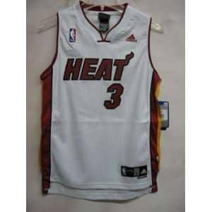 Dwyane Wade Miami Heat WHITE NBA YOUTH Swingman Jersey