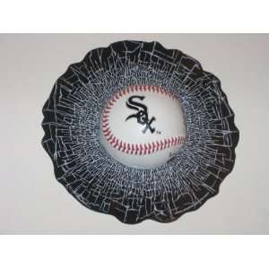 CHICAGO WHITE SOX Shatter BaseBall WINDOW CLING Decal