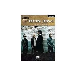 Hal Leonard Bon Jovi   Guitar Play Along Volume 114 (Book