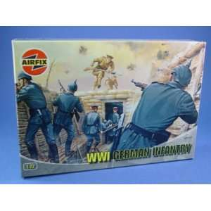 Airfix 172 Toy Soldiers WWI German Infantry 48 Piece Set