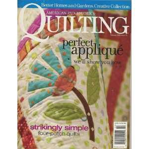 American Patchwork & Quilting Magazine, February 2006 (Issue Number 78