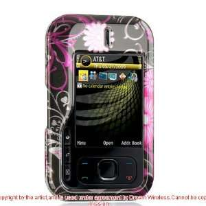 For Nokia Surge 6790 Pink Flower Snap on Case Skin Cell