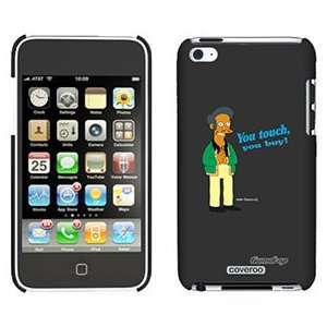 Apu from The Simpsons on iPod Touch 4 Gumdrop Air Shell