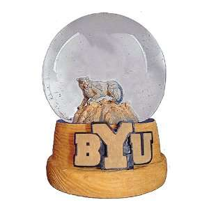 Treasures Brigham Young Cougars Musical Snow Globe Sports