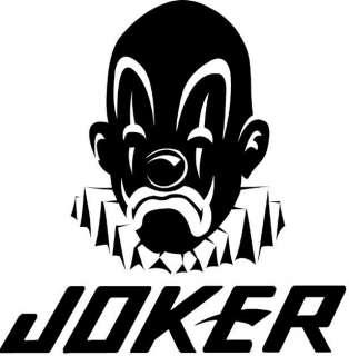 NEU Joker Brand Hoodie Sweatjacke Kapuzenjake S M # 299