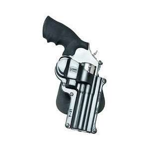 Standard Paddle Holster, 4 Revolvers, Right Hand, Warranty, Black