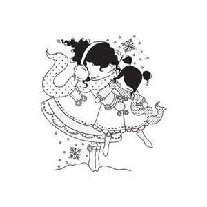 Stamping Bella Unmounted Rubber Stamp mommy And Mimi Lulu
