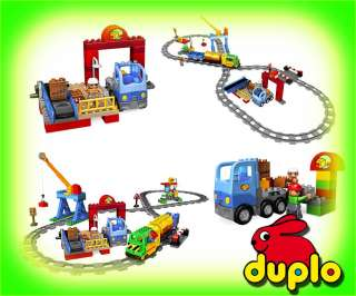 Lego Duplo 5609 Deluxe Train Set On Popscreen