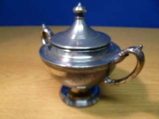 Rogers 1881 Silver Plated Three Piece Tea Set T83