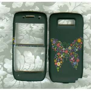 Butterfly case nokia e71 Straight Talk tracfone net10 phone hard cover