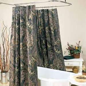 Mossy Oak Break Up Shower Curtain: Home & Kitchen