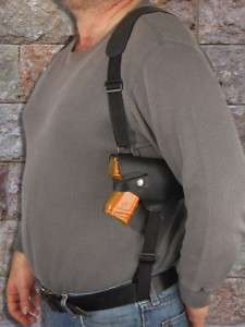 Black Leather Shoulder Holster Springfield XD Comp 9 40