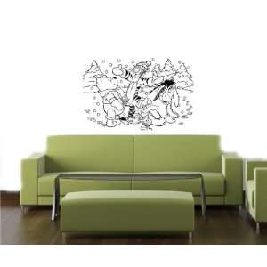 Winnie The POOH Wall MURAL Vinyl Decal Sticker