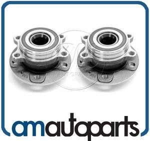 Audi TT VW Passat Jetta Front Wheel Hub & Bearing Assembly Pair Set