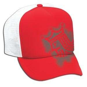 Brine King Fitted Trucker Hat RED