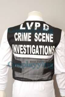 Vest of CSI Crime Scene Investigation Las Vegas Custom