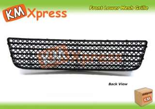Chevy 06 09 Impala Impala SS LT Front Lower Mesh Grille Satin Black