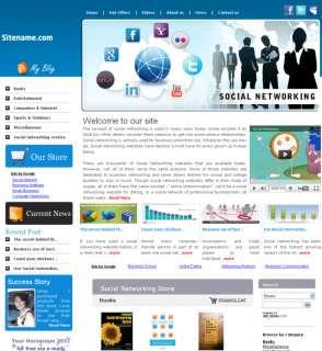 Money Making SOCIAL NETWORKING  Website For sale