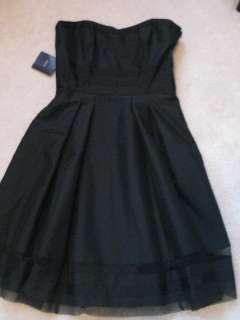 NEW White House Black Market Dress Strapless Lined $168 Feel Beautiful