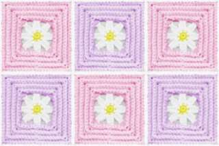 Baby Daisy Mae Quilt Afghan Blanket CROCHET PATTERN