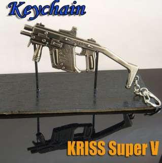 MINIATURE Gun KeyChain key Ring Gift KRISS Super V