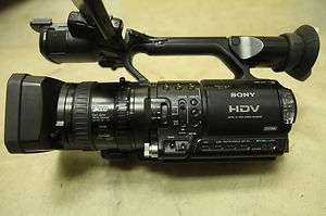 Sony HVR Z1U Camcorder   Black 0027242668799