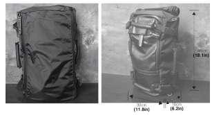 BLACK backpack laptop notebook large travel backpacks