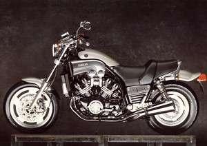 Yamaha V Max Motorcycle Poster MINT Vmax 1200