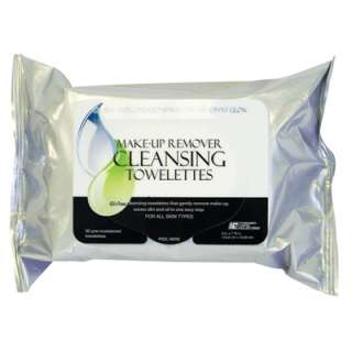 Pre Moistened Oil Free Makeup Remover Cleansing Towelettes Face Skin