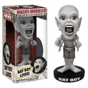 FUNKO WEEKLY WORLD NEWS BAT BOY LIVES BOBBLE HEAD