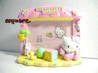 Sanrio Baby Hello Kitty 3D ceramic 4 x6 4R Photo Frame