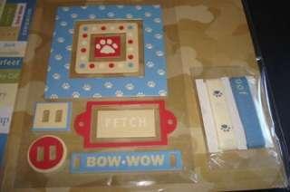 NEW 67 Piece 12 x 12 DOG Scrapbook Page Kit ~Free Ship