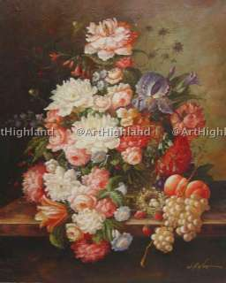 Original Floral Oil Painting Canvas Art Summer Harvest