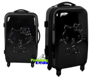 Hello Kitty ABS Luggage Bag Trolley Baggage Roller 24