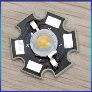 10pcs 3W High Power Warm White Star LED Light Lamp Bulb 240LM 3500K