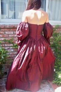 50S TAFFETTA PROM/PARTY DRESS BALL GOWN fun sleeves