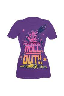 Transformers Autobots Roll Out Girls T Shirt