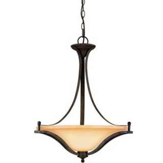 Commercial Electric Rustic Iron 3 Light Pendant ESS8913 at The Home