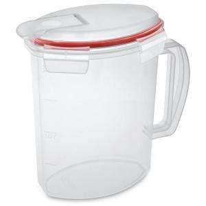 Sterilite Ultra Seal 2.2 quart Pitcher (6 Pack) 03706606 at The Home