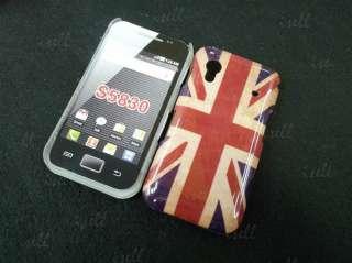 New Retro Union Jack UK Flag Hard Back Case Cover For Samsung Galaxy