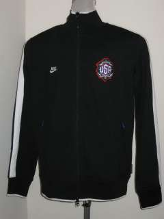 Nike Running N98 MR CARTOON USA JACKET Mens Black NWT