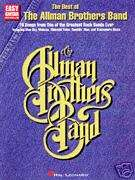 ALLMAN BROTHERS BAND   EASY GUITAR TAB BOOK   SONGBOOK