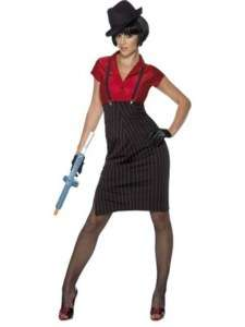 1920s Gangster Girl Adult Costume