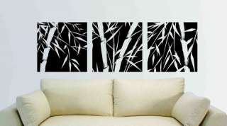Wall Vinyl Decal Sticker Chinese Bamboo Tree Frame 6ft