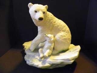 Maruri Polar Bear Expedition Collection Porcelain Figur